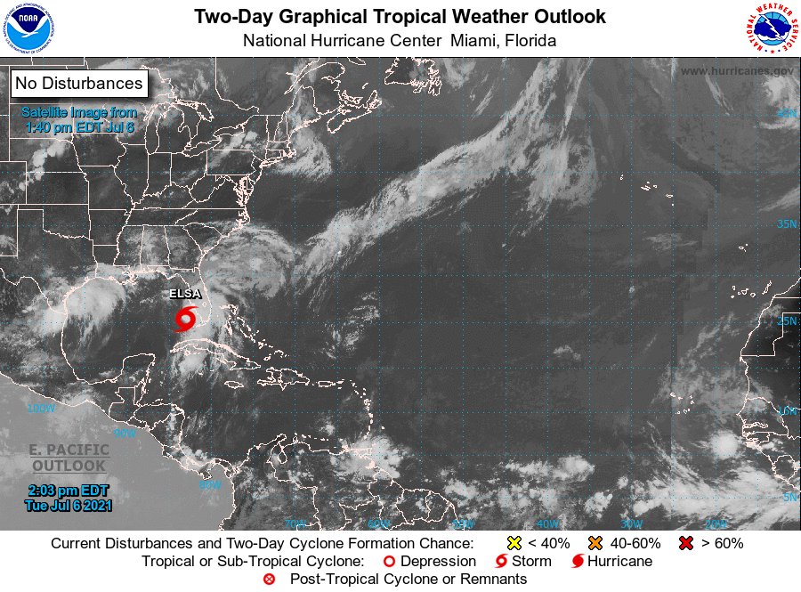 NOAA Storm Map